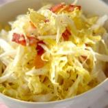 『ベーコン炒めて白菜に混ぜてマヨとブラックペッパーで和えた結果wwww』の画像