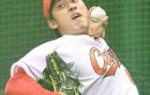 カープ中村恭平が回復アピール「急によくなった」 ブルペンで50球