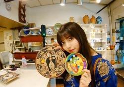【あしゅみな】齋藤飛鳥&星野みなみ、スペインの陶器屋さんのインスタに掲載キタ――(゚∀゚)――!!