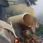 【動画】中国、ロケット発射でまた残骸が民家に直撃、炎上!有毒な煙もモクモクと [海外]