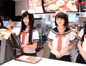 【画像】台湾のマクドナルド、今度は猫耳!! 可愛すぎワロタwwwwww