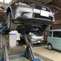 関市のお客様のGS350のATF交換を行いました。