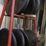 『丸椅子の座板』の画像