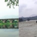 【動画】中国、保護文化財の明代の古橋が洪水によって崩壊、流される!その瞬間