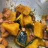 ささっとあと一品!ベーコンたっぷりハニーレモン風味のカボチャサラダ