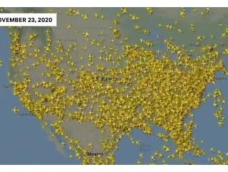 【ダメだこりゃ】アメリカ、感謝祭を過ごすために国民が大移動開始「これはやばいずぎる(画像)」
