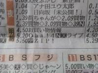 【日向坂46】新潟のラテ欄、先週でもマシな方だったwwwwwwwwwww