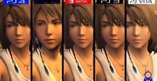 Switch版『ファイナルファンタジー10』、PS4/Vita/PS2/PS3版とのグラフィック比較映像が公開!