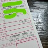 『【Ninja250】納税通知書が来たよ。250ccバイクの自動車税って?』の画像