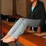 『座禅・瞑想すると膝が痛い・膝痛になるー原因と対策1』の画像