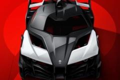 アリエル、バットモービル風1180馬力のEVハイパーカー画像公開