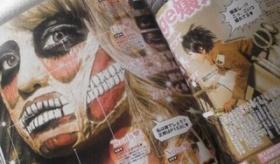 【ファッション雑誌】   日本の ファッション雑誌 に 進撃の巨人メイクアップ が登場してるぞ!!   海外の反応