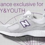 『7月9日(金)11時発売 ニューバランス2002R BEAUTY&YOUTH 別注カラー New Balance ML2002R6』の画像