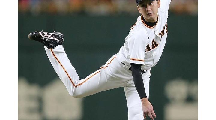 巨人・野上亮磨  4.84、4勝3敗、44回2/3、被本塁打10