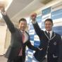 阪神1位西くん笑顔、矢野監督「入ってくれんねんな?」