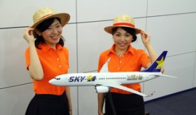 【企画】   これは出来が最悪!?  日本の航空会社の「ワンピースとコラボ」の飛行機の出来が、良くない件。   海外の反応