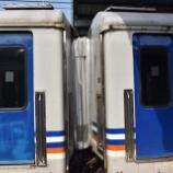 『蛇腹採用なるか?客車に新型貫通幌を設置した試運転実施(8月25日)』の画像