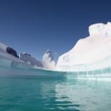 『南極の氷が急速に消失中』の画像