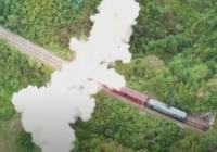 北朝鮮が新型「鉄道機動ミサイルシステム」の映像を公開…鉄道車両の屋根からミサイルが発射!