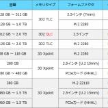 『IntelのSSDはどれを選ぶのがいいのか?』の画像