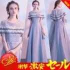 『デザインはシンプルでワンピースのように軽く着こなせるドレス』の画像