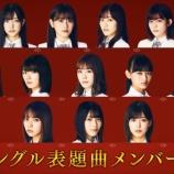 『櫻坂46 1stシングル『Nobody's fault』選抜発表!!!キャプチャまとめ!!!』の画像