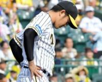【阪神】岩貞、満塁被弾を含む6失点の炎上。5回までに被安打13。