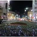 高崎駅西口前のイルミネーション20141122