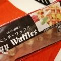 業務スーパーのベルギーワッフルは自然解凍もいいけどヘルシオオーブンが最高の食べ方。チョコレートでカロリー摂取する食べ方がおすすめ。