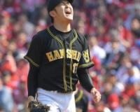 【阪神】岩貞、4回6安打4失点で降板