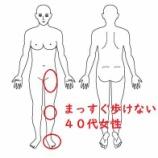 『≪転んで傷めた脚…片足を引き攣って真っすぐ歩けない≫~半年出来なかった正座もできるようになりました!!』の画像