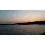 『夕暮れの狭山湖』の画像