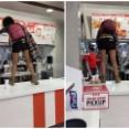 アメリカ人女性がKFCで大暴れ! 店員から「マスクをして!」と言われ大激怒か!? 海外の反応。