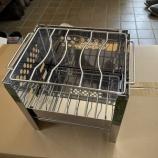 『折りたたみ式ミニコンロ』の画像