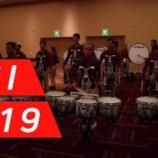 『【DCI】ドラム必見! 2019年ブルースターズ・ドラムライン『インディアナ州インディアナポリス』本番前動画です!』の画像