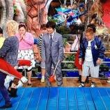 『イモト「人間ホイール」で手越祐也の股間に顔をうずめる放送事故wwww【イッテ画像】』の画像