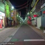 『深夜に散歩_竹ノ塚駅の周辺「カリンロード」(足立区)』の画像