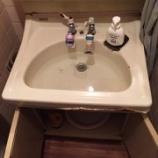 『大阪府大東市 洗面台排水つまり -排水管詰まり-』の画像