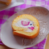 『小麦粉は使わない!てんぷら粉で作るロールケーキ』の画像