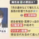 なぜ東京の感染者は減少しているのか? 専門家3つのポイント指摘 (「ワクチン」「行動変容」「人流の変化?」) /ウイルスの自壊仮説 東大名誉教授 児玉龍彦氏  メモ