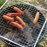 『レビュー:軽量コンパクトな折り畳み式グリルで野外炭火焼肉。』の画像