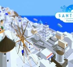 サントリーニ島の観光地を運営する『ハロー!サントリーニ』iOS/Android向けに予約受付開始。 200以上の建物を配置し、白と青の美しい街を作り上げよう