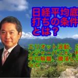 『2月28日11時04分 日経平均株価 相場観測』の画像