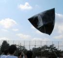 【航空】気球飛んでった!先生が車で追い、パトカーも 文化祭