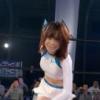 SKE48高柳明音さんの腹肉