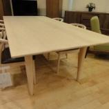 『【北欧テイスト・日進木工のテーブルとチェア2011】 飛騨の木プロジェクトの純正国産ダイニングセット HIT-22A』の画像