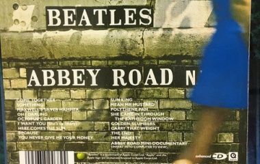 『ABBEY ROAD The Beatles』の画像
