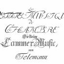 テレマン:Kleine Cammer - MUSIC「小室内楽」(1)