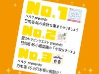 【日向坂46】AuDee 9月の再生ランキング。