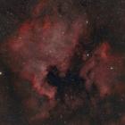 『投稿:BORG72FLによる北アメリカ星雲 2020/08/15』の画像